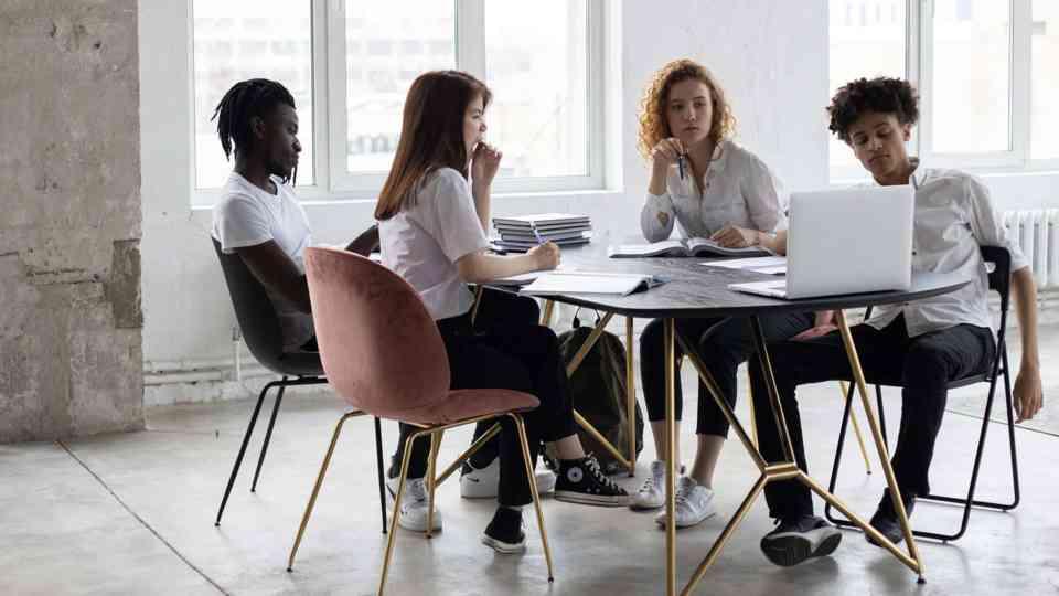 Die Designagentur unterstützt Startups